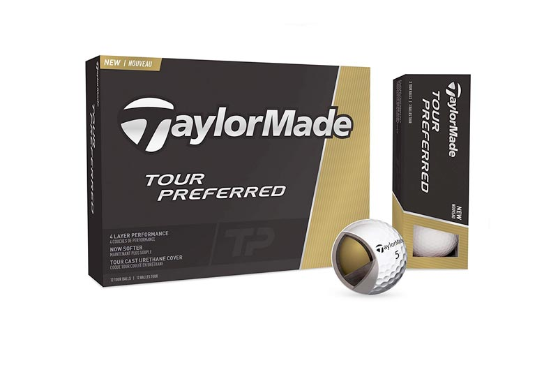 TaylorMade Tour Preferred Golf Balls, Prior Generation (One Dozen)