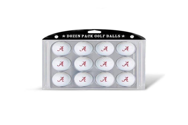 NCAA Golf Balls, 12 Pack