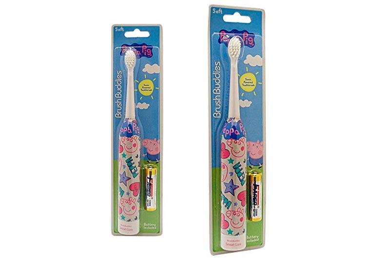 Brush Buddies Peppa Pig Sonic Powered Toothbrush