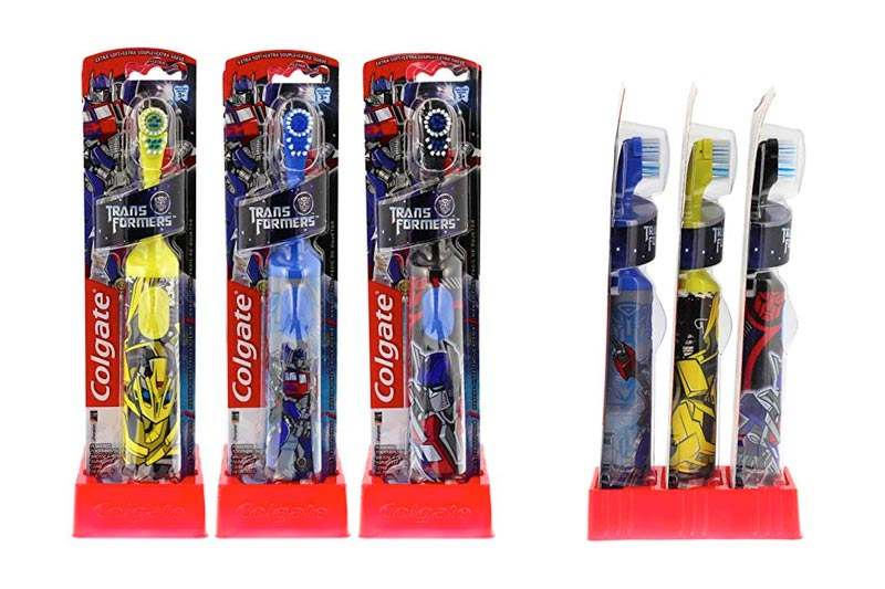 Colgate Kids Power Toothbrush, Transformers (Colors May Vary)