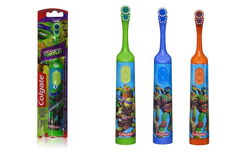 Colgate Children's Teenage Mutant Ninja Turtles Powered Toothbrush, Soft, 1 ea (Pack of 3)