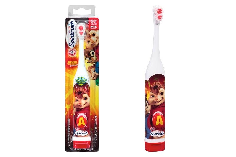 Arm & Hammer™ Kid's Spinbrush™ Alvin and the Chipmunks Chipwrecked Toothbrush Average rating:0out of5stars, based on0reviewsWrite a review Walmart