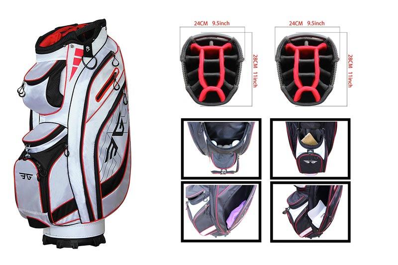 Best Golf Cart Bags 12 Reviews Lightweight With Stand