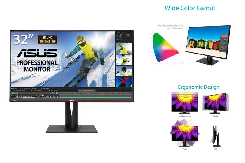 "ASUS 32"" 4K Ultra HD ProArt Professional Monitor [PA328Q] IPS"