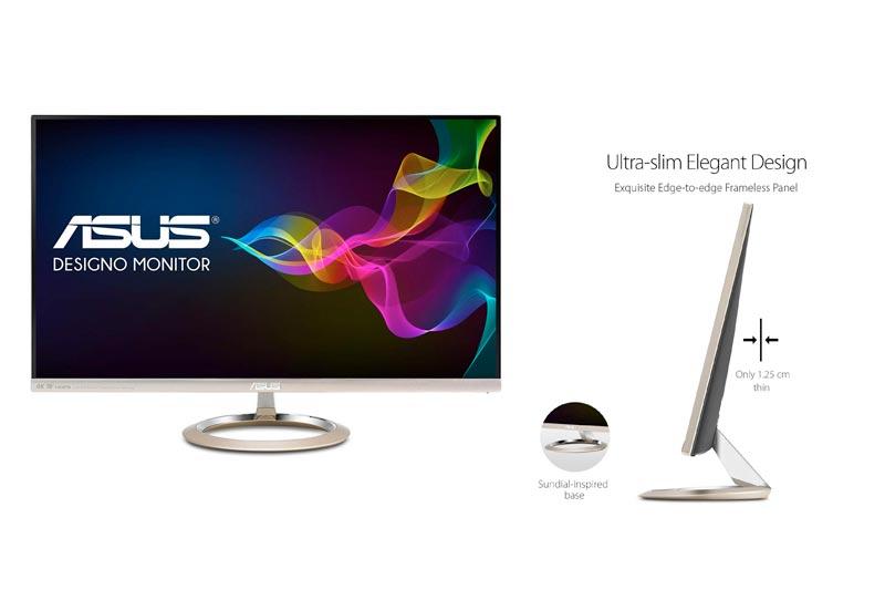 "ASUS Designo MX27UC 27"" 4K UHD IPS DP HDMI USB Type-C Eye Care Monitor with Adaptive Sync"