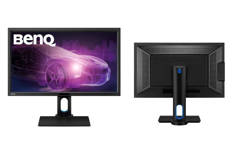 BenQ BL2711U 27-Inch IPS 4K Monitor, 3840x2160, sRGB, and Rec.709, CAD/CAM, 60Hz refresh rate