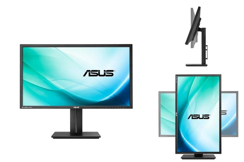 "ASUS PB287Q 28"" 4K/ UHD 3840x2160 1ms DisplayPort HDMI Ergonomic Back-lit LED Monitor"