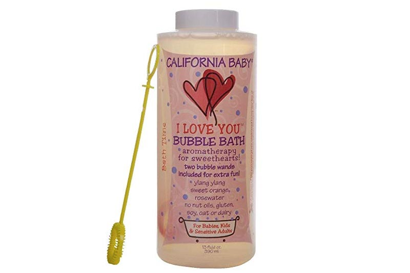 California Baby Aromatherapy Bubble Bath - I Love You - 13 oz