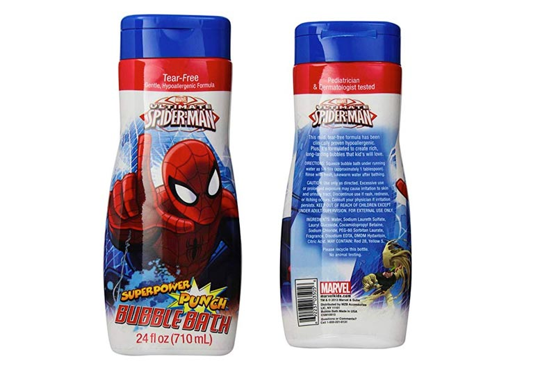 Marvel Spider Man Bubble Bath, 24 Ounce