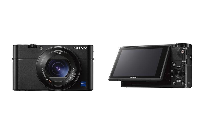 "Sony Cyber-Shot DSC-RX100 V 20.1 MP Digital Still Camera 3"" OLED, flip Screen, WiFi 1"" Sensor DSCRX100M5/B"