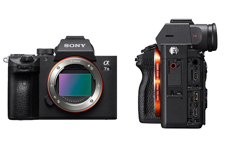 Sony a7 III Full-Frame Mirrorless Interchangeable-Lens Camera Optical with 3-Inch LCD, Black (ILCE7M3/B)