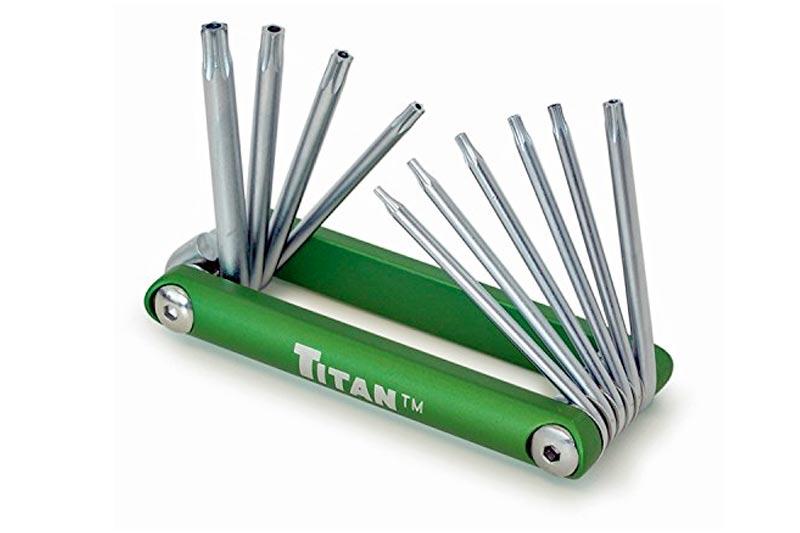 Titan 12710 Tamper Proof Star Key Set