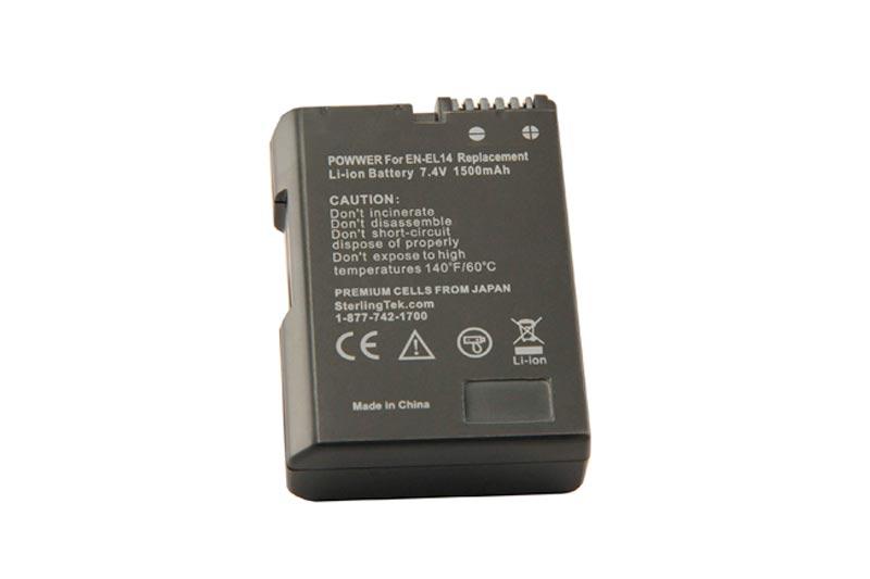 STK EN-EL14 EN-EL14a Battery for Nikon D5500