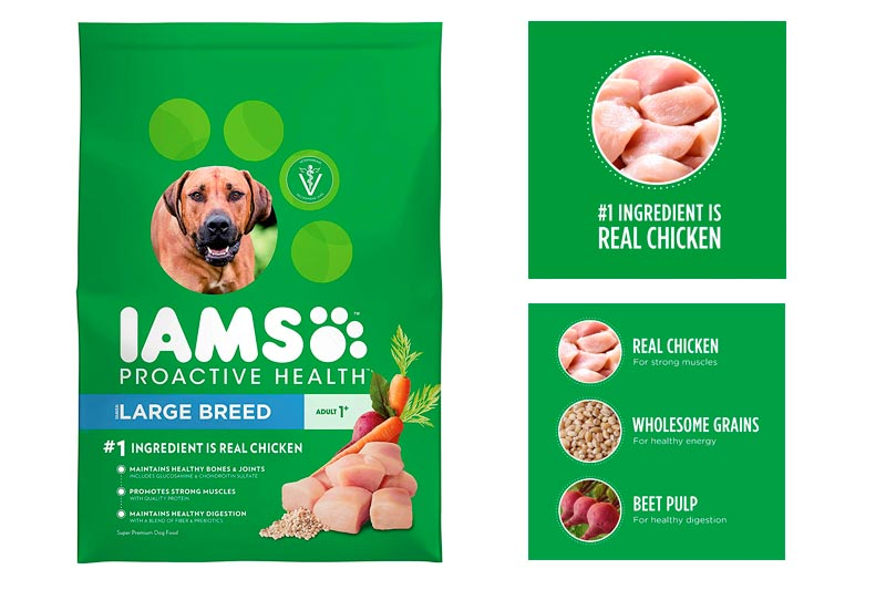 Iams PROACTIVE HEALTH Large Breed Adult Dry Dog Food - Chicken