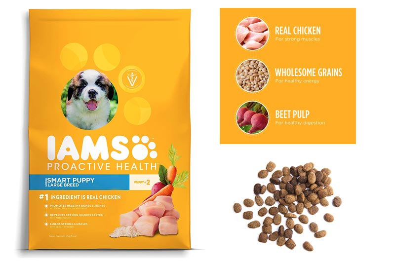 Iams PROACTIVE HEALTH Puppy Dry Dog Food - Chicken