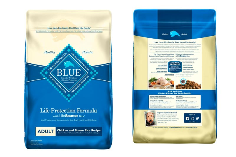 Blue Buffalo Life Protection Formula Natural Adult Dry Dog Food Chicken & Brown Rice Recipe