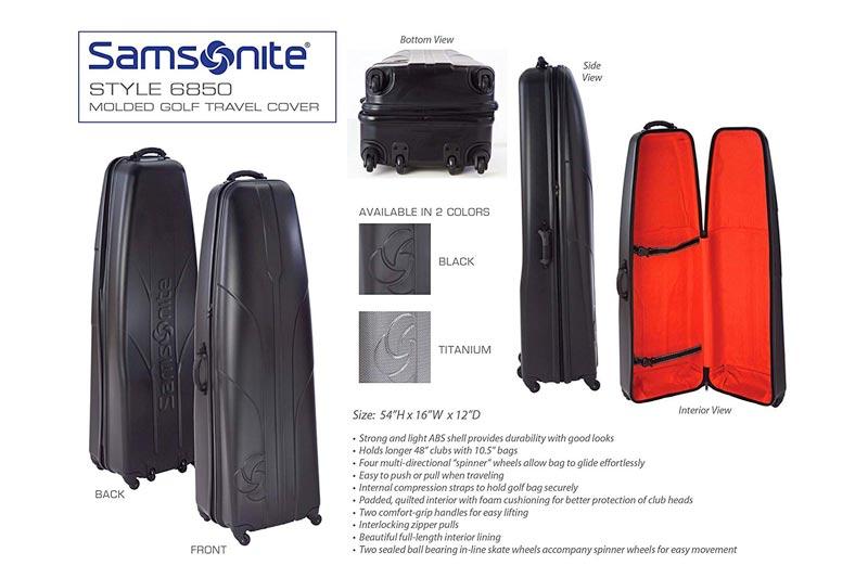 Samsonite Golf Hard Sided Travel Cover Case