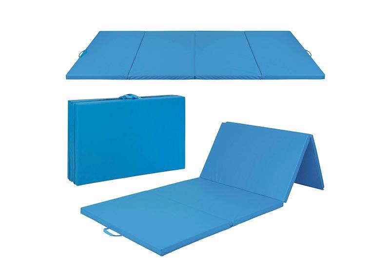 "Best Choice Products 4'x10'x2"" Gymnastics Gym Folding Exercise Aerobics Mats Stretching Yoga Mat"