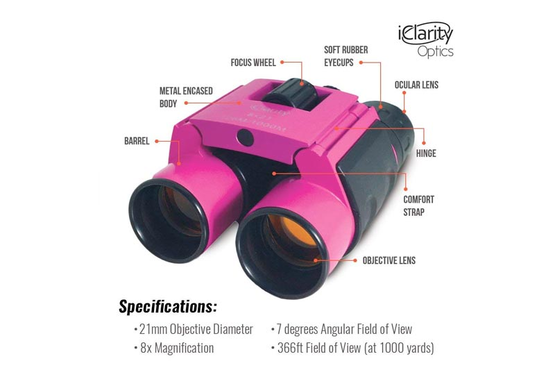 Compact Small Binoculars Mini Folding: Perfect for Kids and Adults, Fits in Pocket, Bird Watching, Hiking, Travel, Theater, Concerts, Premium Glass lens, Shockproof