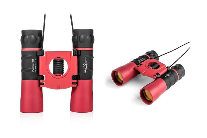 Lucky Bums Youth Kids 10x25 Objective Power Lens Scout Bino Compact Binoculars