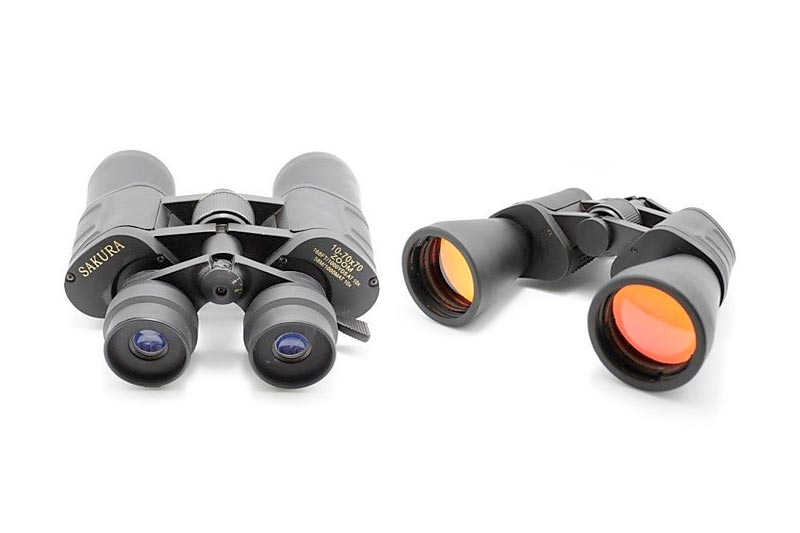 Ling@ 10-70 x 50 10x50 Day Night Sport Zoom Compact Travel Watching Binoculars